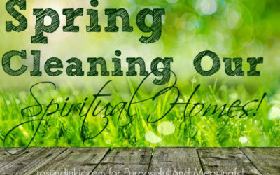 Spring Cleaning Part II – Cleansing Our Bodies